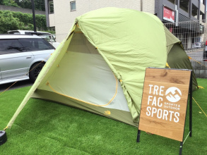 ノースフェイスのベッドロック4入荷!天井広々の快適テント!