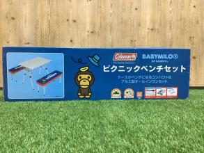サンリオ×コールマンのピクニックベンチセット/ベビーマイロが入荷!!