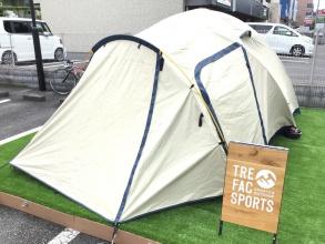 ホールアースのアースドーム270Ⅲ入荷!前室が広い快適テント!