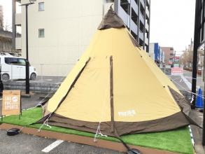 OGAWA(オガワ)のピルツ15-2が入荷!簡単設営で8人収納可能な大型テント!