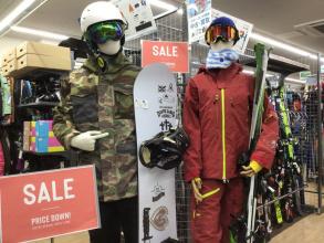 【セール開催中】ウィンタセール開催中!スキー・スノーボード用品をお得にゲット!