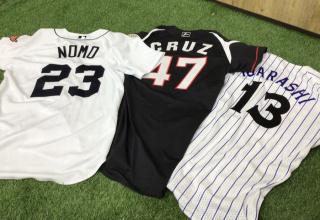 【野球用品買取】当店おすすめNPB・MLB野球ユニフォームご紹介!!