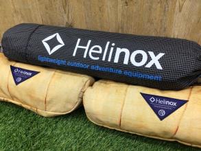 【ヘリノックス買取】Helinoxの美品コット&チェアご紹介!オンラインで購入可能!