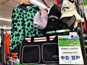 ゴルフウェア・クラブ・バッグはトレファクスポーツ多摩南大沢店にお売りください!!