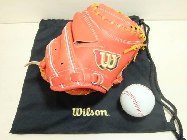 【トレファクスポーツ】WILSON(ウィルソン)軟式キャッチャーミット【2014年モデル】【未使用品】登場!