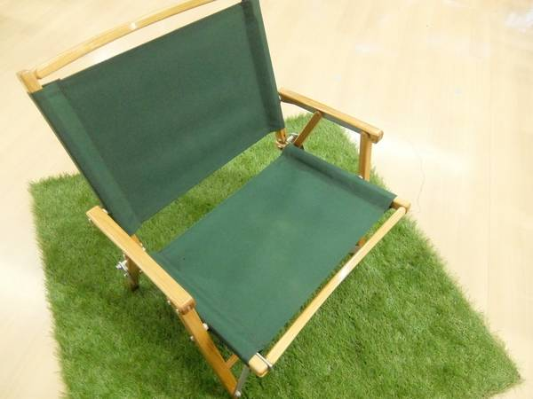 【TFスポーツ】コンパクト×木=KERMITCHAIR (カーミットチェア)
