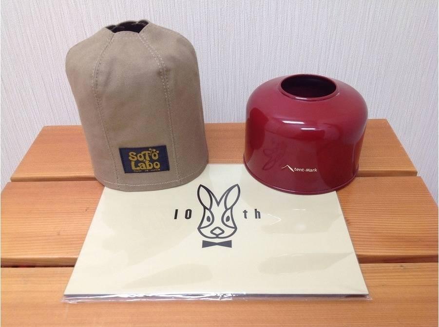 【TFスポーツ青葉台店】ガス缶を簡単にドレスアップ♪DOD、テンマク、ソトラボ