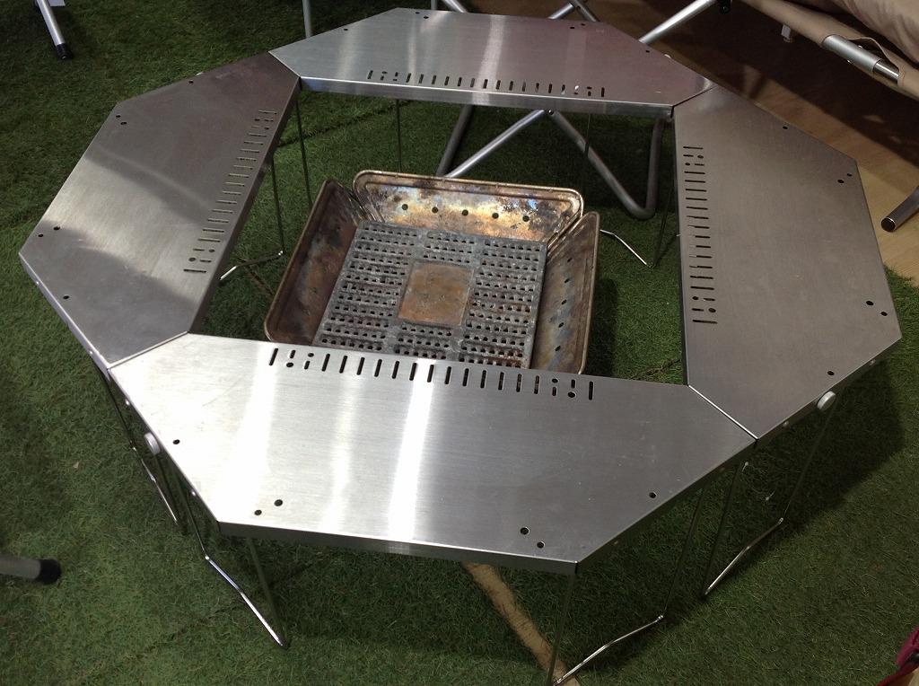 【TFスポーツ青葉台店】スノーピークのジカロテーブル&焚火台が買取入荷しました!
