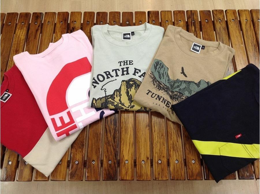 【TFスポーツ青葉台店】直近入荷のノースフェイスTシャツ!