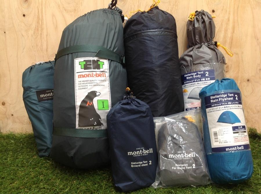 モンベルの軽量テント入荷してます!!