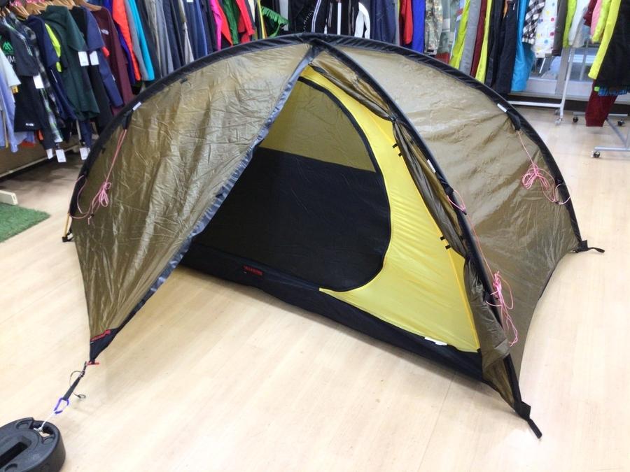 ソロキャンプにオススメ!ヒルバーグのテント・タープ入荷!