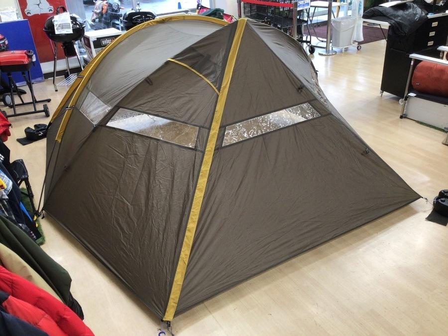 カメラマン専用テント!スノーピークのカマエルドーム2入荷!