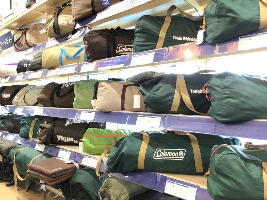 近日入荷のテント・タープを一挙にご紹介!!