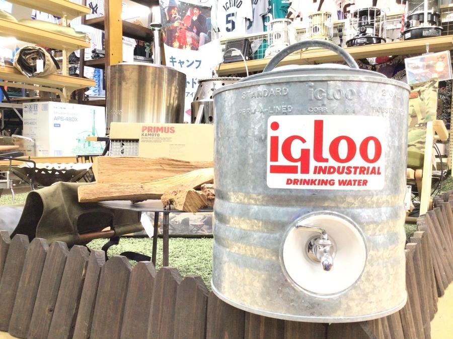 igloo(イグルー)の2ガロンヴィンテージメタルジャグが入荷!
