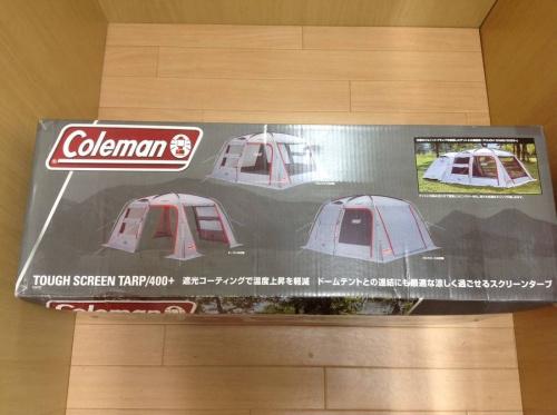 スクリーンタープのColeman