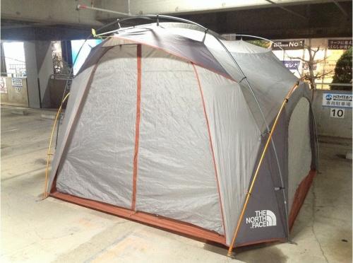 テントのノースフェイス