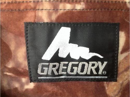 バッグのGREGORY