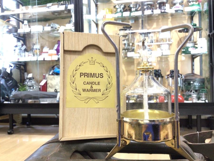 100周年記念!PRIMUSのリキッドキャンドル&ウォーマ-入荷。