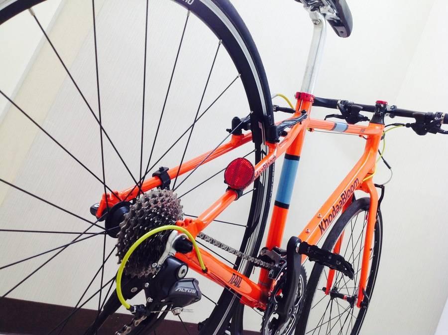 中古自転車のクロスバイク
