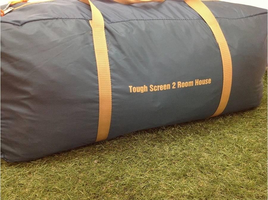 テントの2ルームテント