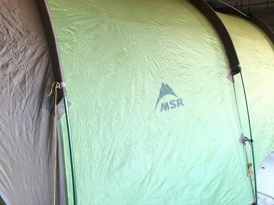 テントのMSR