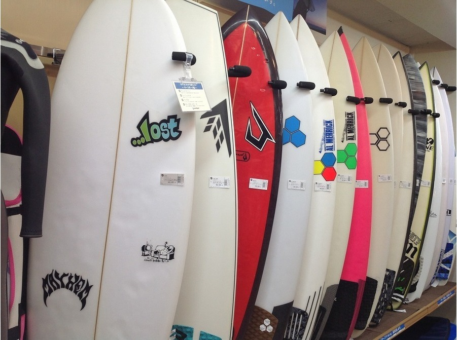 サーフィンのサーフボード