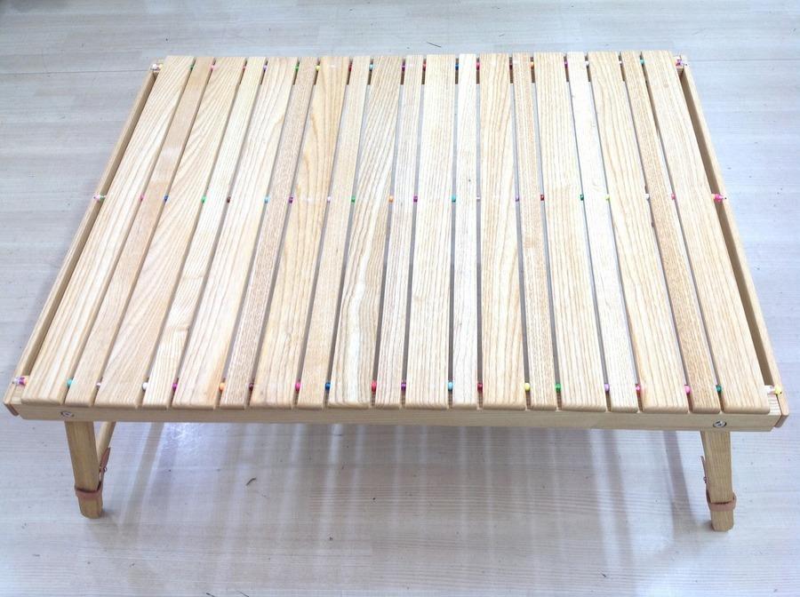 ロールトップテーブルのテーブル