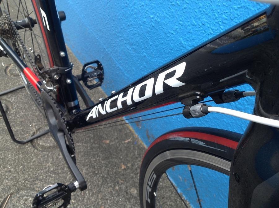 自転車のアンカー