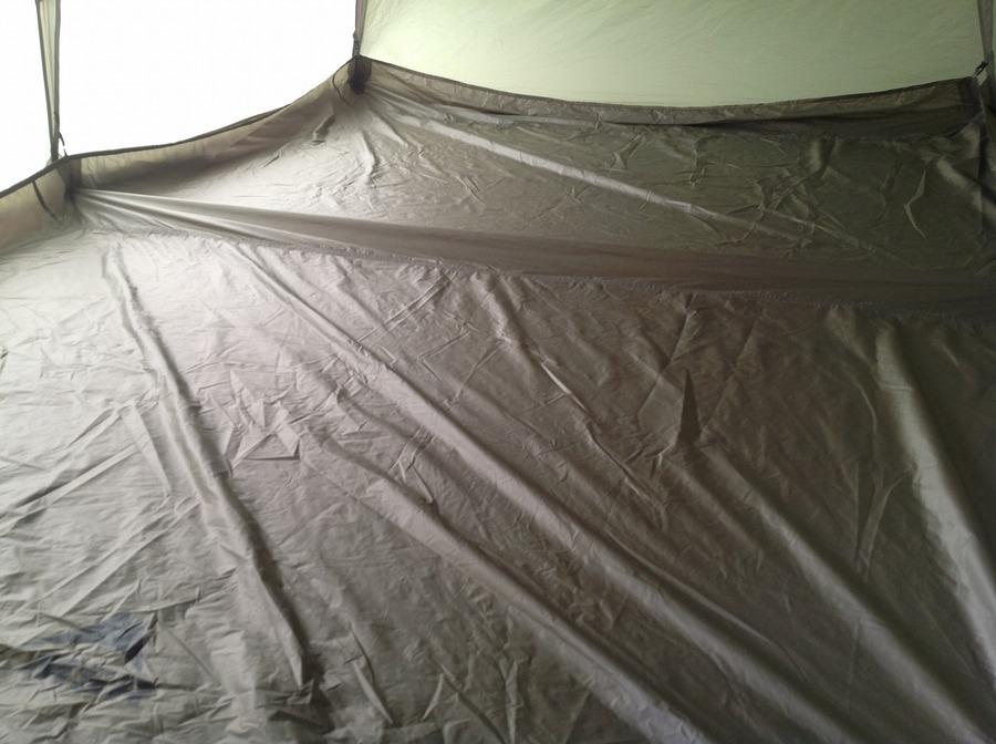 テントのバックカントリーバーン