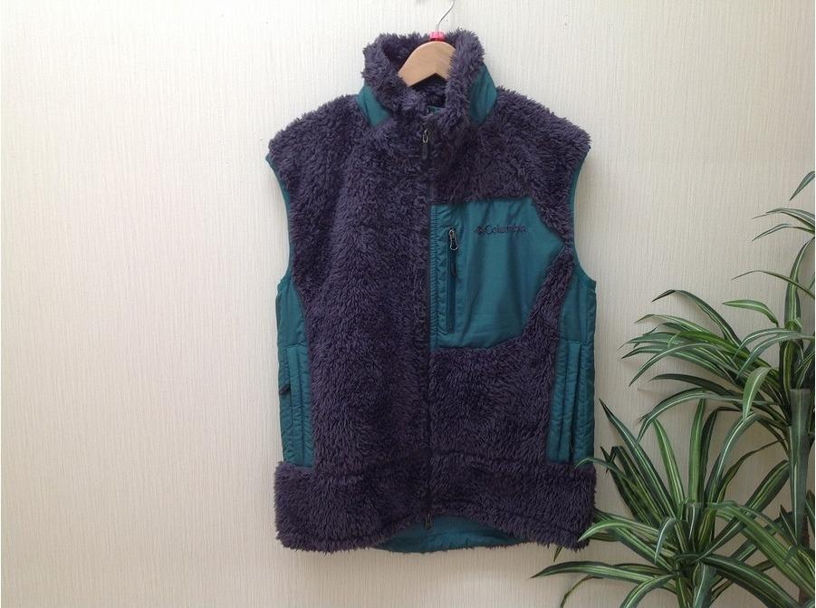 フリースジャケットの秋冬ウェア