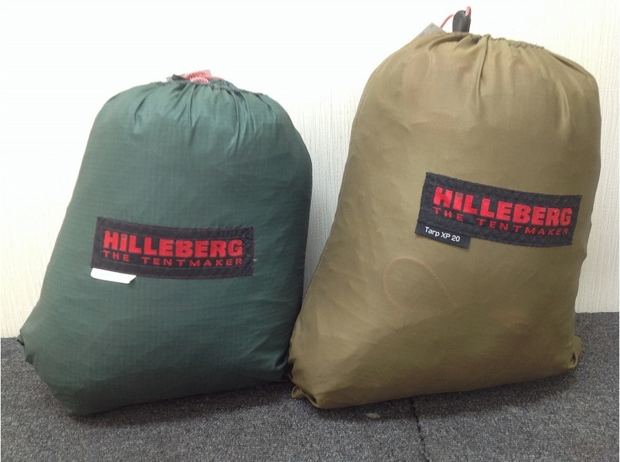 キャンプ用品のヒルバーグ