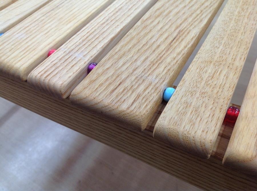 テーブルのCiel Bleu