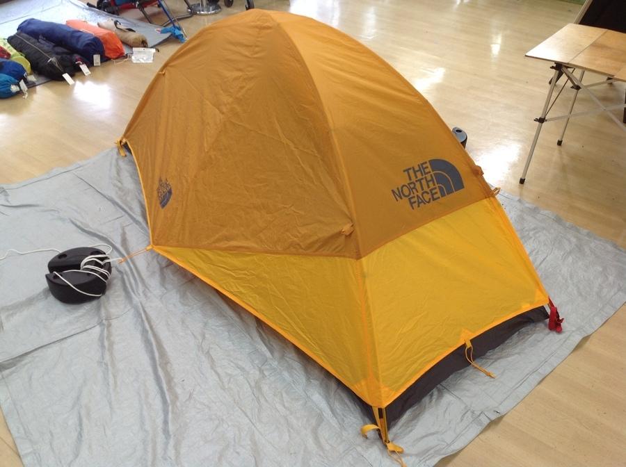 テントのTHE NORTH FACE
