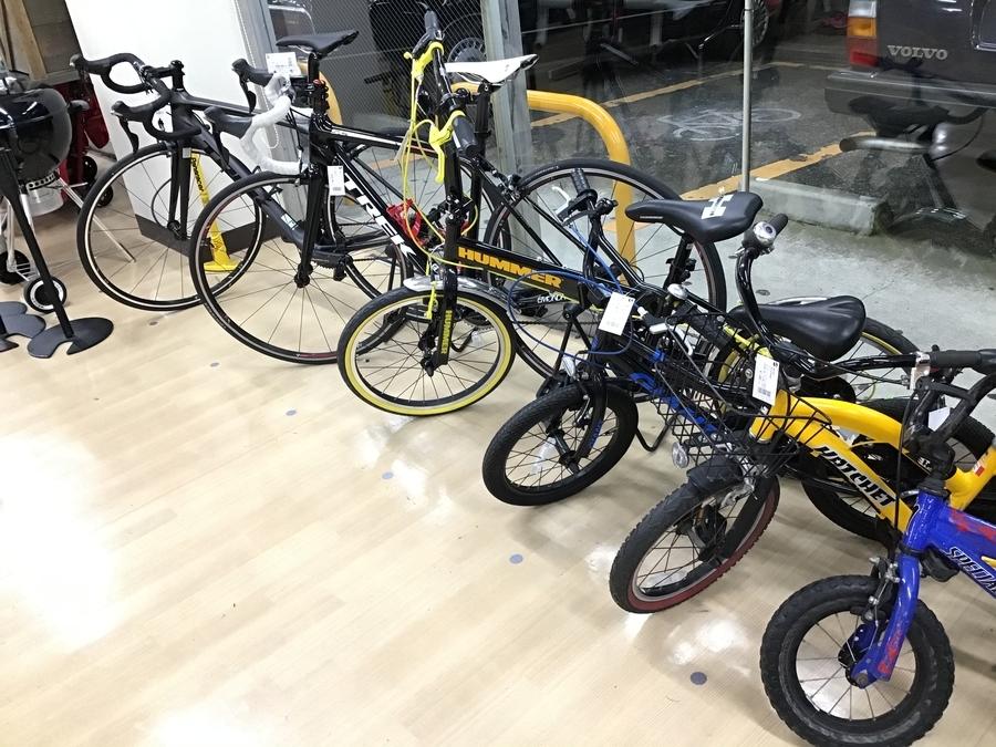 クロスバイクの自転車用品