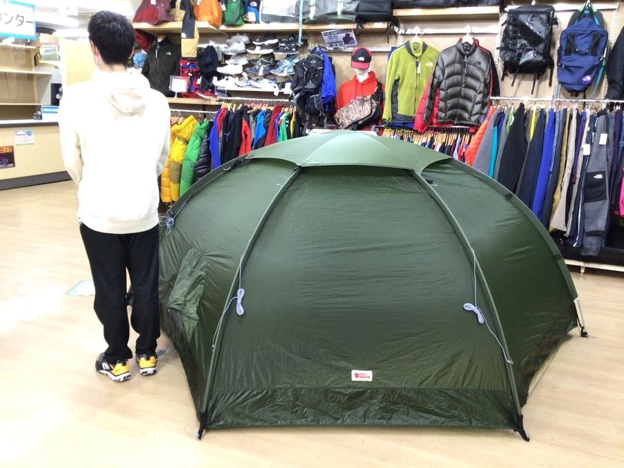 フェールラーベンのテント