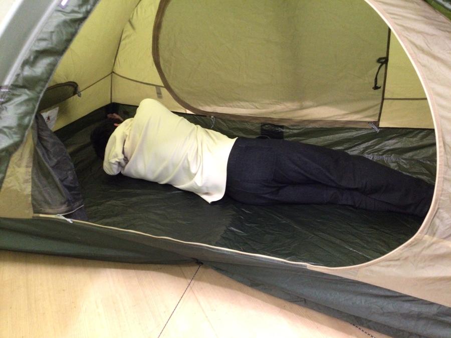 テントのソロテント