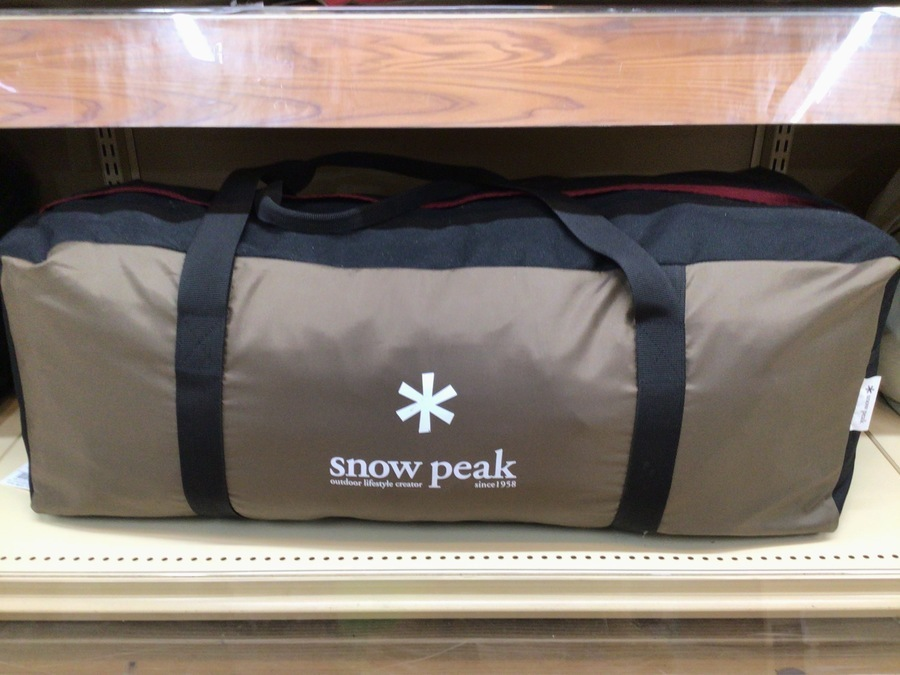 スノーピークのテント