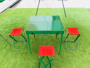 1950年代製造!?Coleman(コールマン)のヴィンテージピクニックテーブルをご紹介!