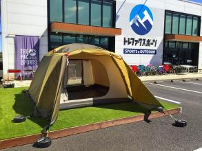 玄人好みのogawa(オガワ)が作るドームテント ピスタ5