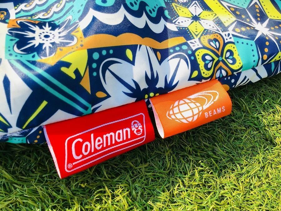 Coleman(コールマン)×BEAMS(ビームス)のビビットカラーのアルミロールテーブルが入荷!