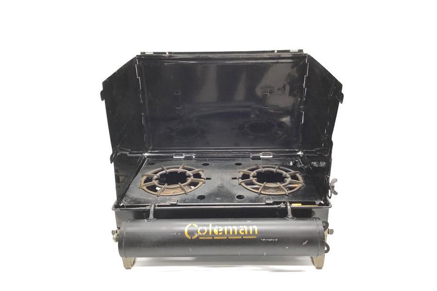 1920年代製造!Coleman(コールマン)のヴィンテージガソリンツーバーナー「No.2」をご紹介!