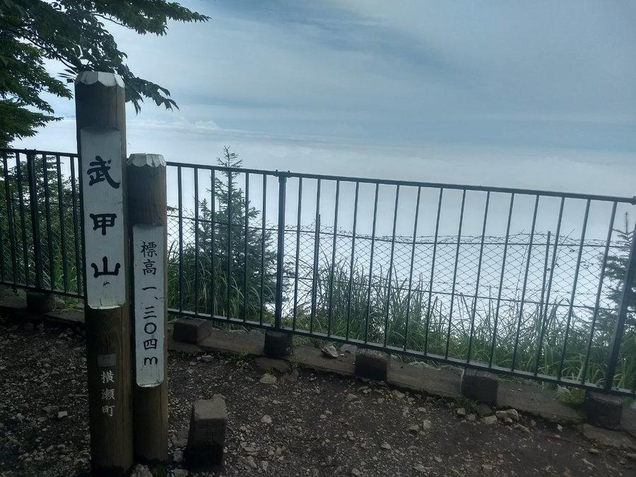 番外編!孤高の山行報告9 ~秩父のシンボル!梅雨中の武甲山~