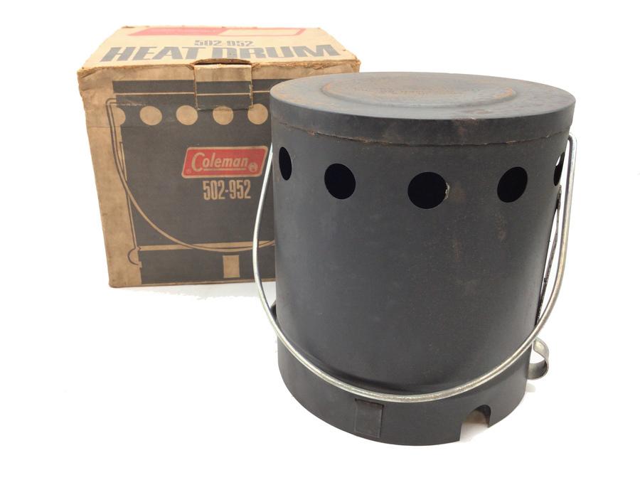 冬のソロキャンで暖を取るための道具!Coleman(コールマン) ヒートドラム(502-952)