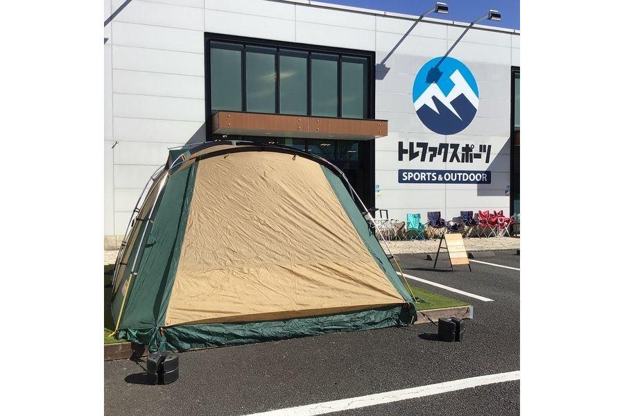 【コールマン買取】Coleman (コールマン)のワイドスクリーン2ルームハウスⅡが入荷!アルミ合金とFRPの珍しいハイブリッドポールを採用しているテント!