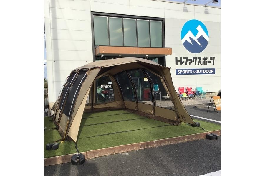 圧倒的居住性を誇るOGAWA(オガワ)の注目トンネルテント「アポロン」をご紹介!