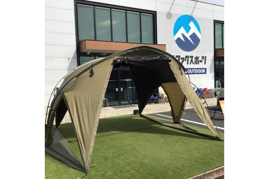 ソロorデュオキャンプで大活躍!Helinox(ヘリノックス)の自立型快適シェルターTV TARP4.0をご紹介!