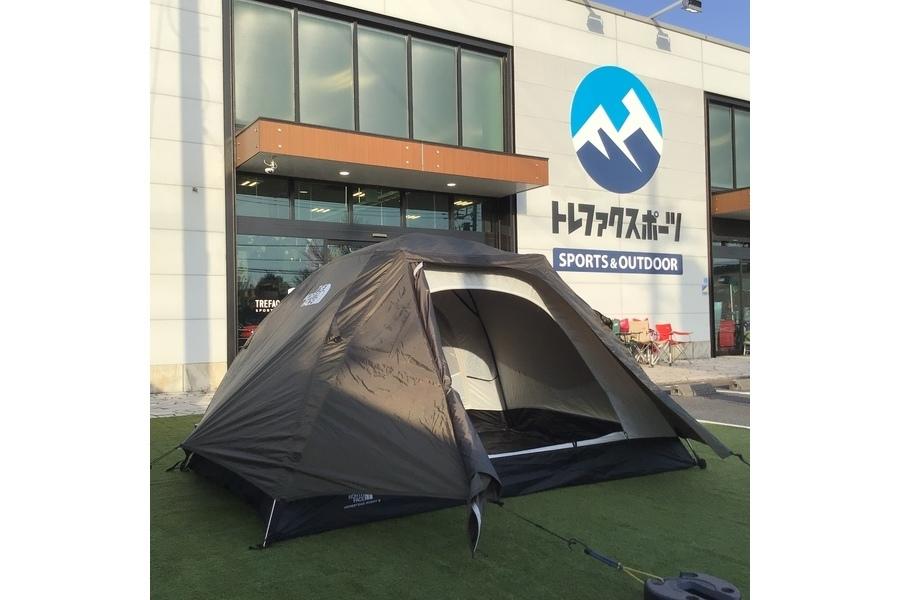 THE NORTH FACE (ザ ノース フェイス)のホームステッドルーミー2が入荷!ソロキャンプに最適な軽量テント!