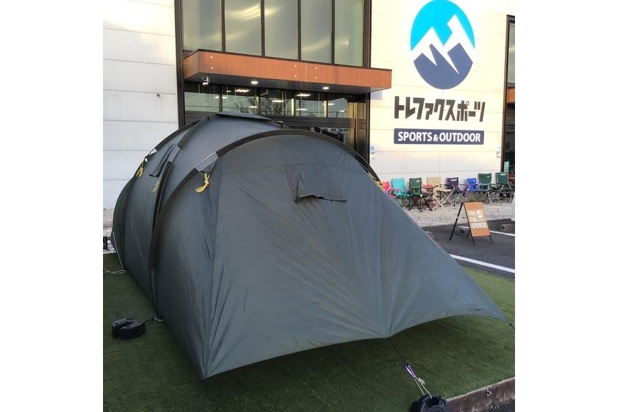 Mil-Tec(ミルテック)の6人用ツールームテントが入荷!オシャレに定評のあるドイツ製ミリタリーテント!