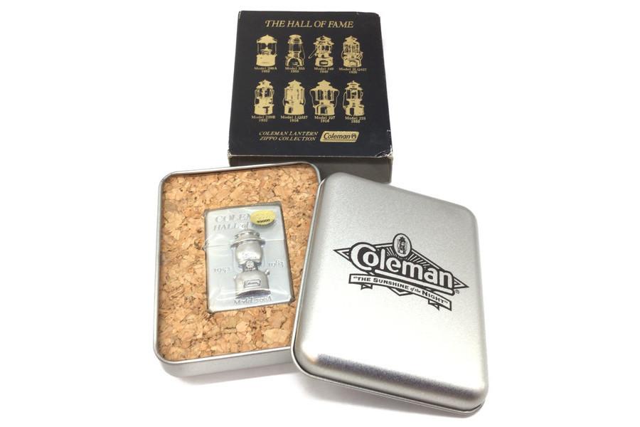 希少品!Coleman(コールマン)の100周年を記念したセンテニアルジッポライターと200Aモチーフのジッポライターが未使用で入荷!