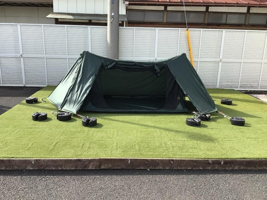 DD HAMMOCK (ディーディーハンモック)のA-Flame tentが入荷!携帯性能の高いソロテント!
